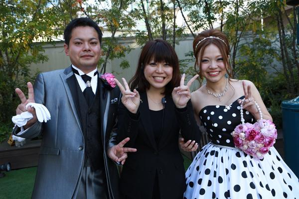 藤木さんのおかげで思い出に残る結婚式ができました。ありがとうございました!