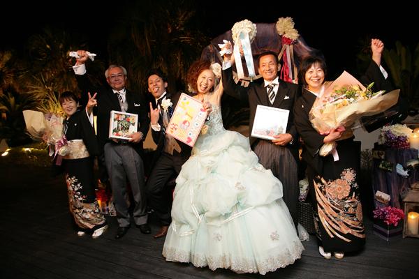 本当に楽しく最高の結婚式でした