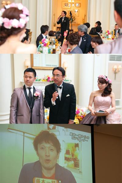 最大のサプライズ大成功!! 川上さん、一精さんありがとう。