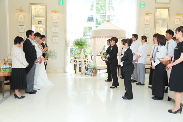 有川さんをはじめ、全スタッフの方々のおかげで人生最高の1日になりました。