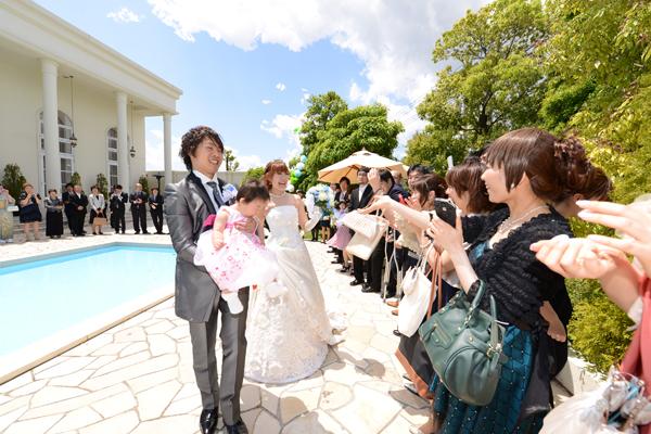 大安の上に晴天!! 最高の式になりました!