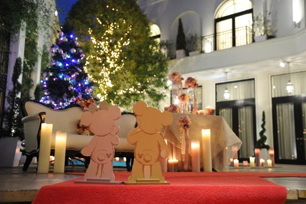 ステキなイルミネーション☆クリスマスナイトウエディングの特権です☆