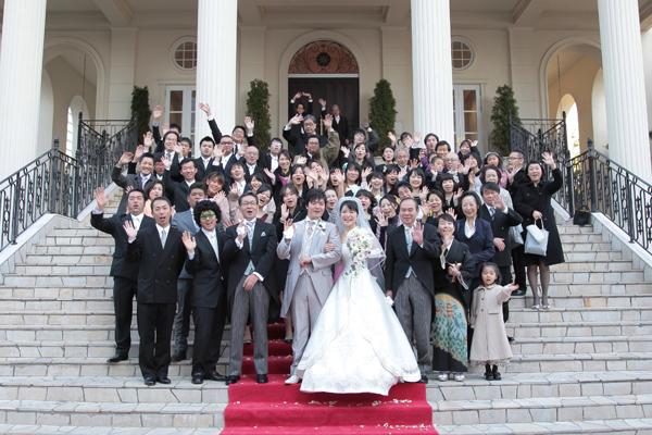 私たちらしい結婚式が出来て、皆様に祝福され最高の一日でした!