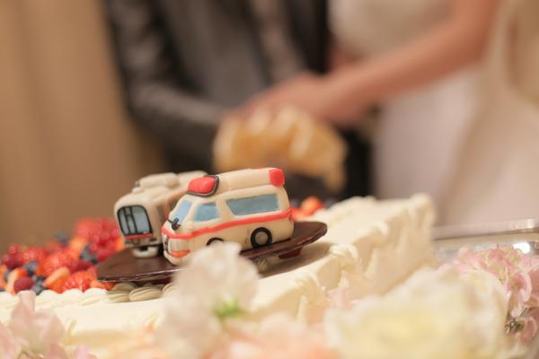お気に入りのウェディングケーキ