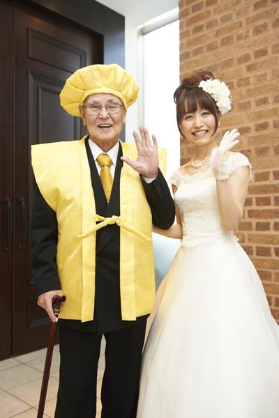 おじいちゃんと一緒に中座するとき、サプライズで米寿のお祝いをしました☆