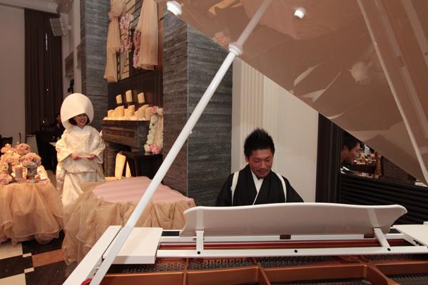この日のために一生懸命練習したピアノの練習!大成功でした