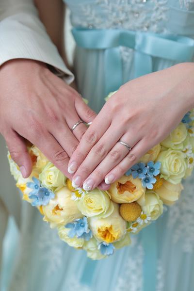 お花と指輪と私たち