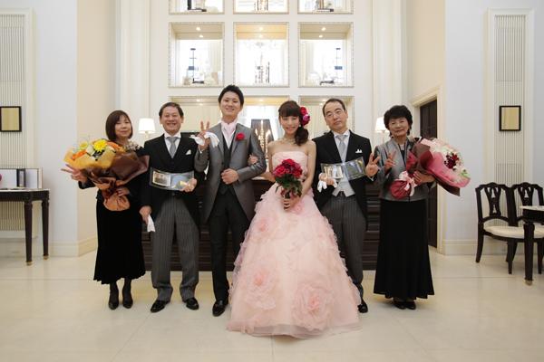 素敵な結婚式をありがとうございました。