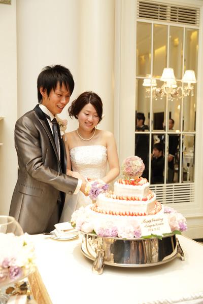 ケーキも可愛いらしくしてもらいました!!
