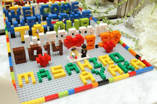 レゴ装飾でゲストもワクワク★