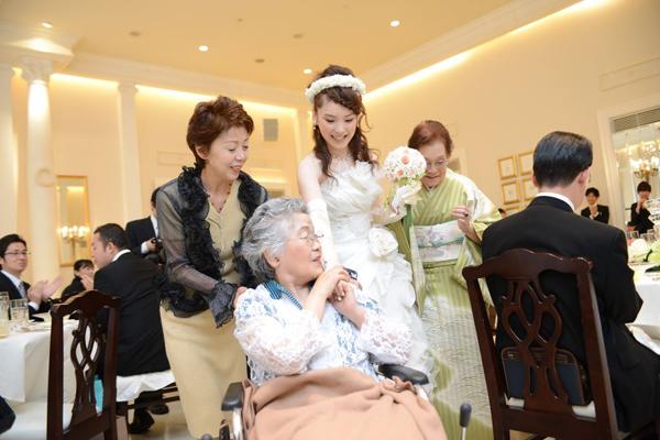 祖母との中座。いつまでも元気でね!