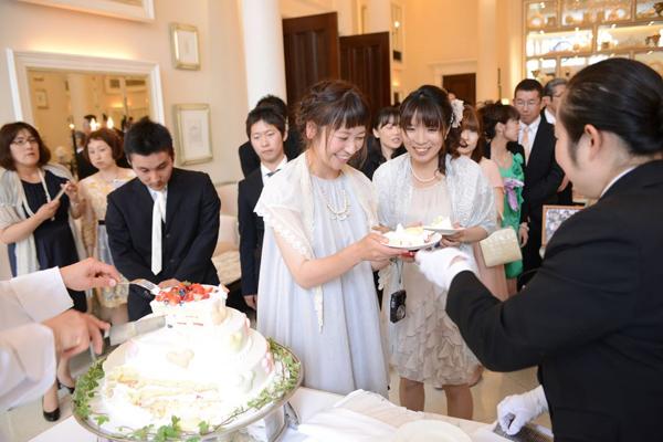 マカロン付ケーキ☆喜んでもらえたかな?