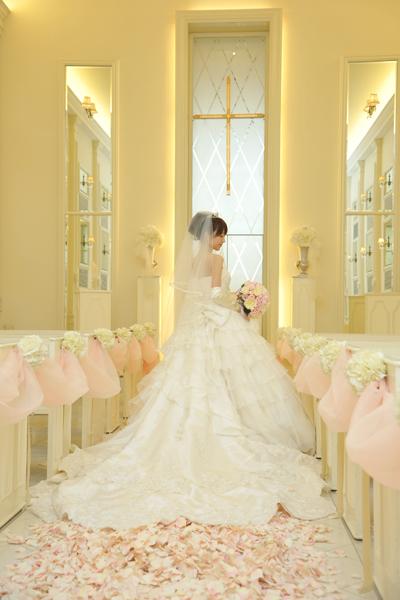 憧れのプリンセスラインのウェディングドレス☆