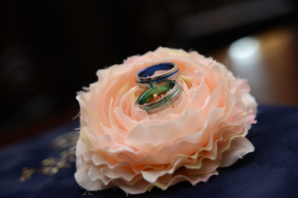 お気に入りの色の結婚指輪
