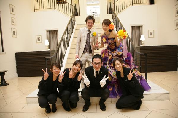 素敵な結婚式になりました。ありがとう!!