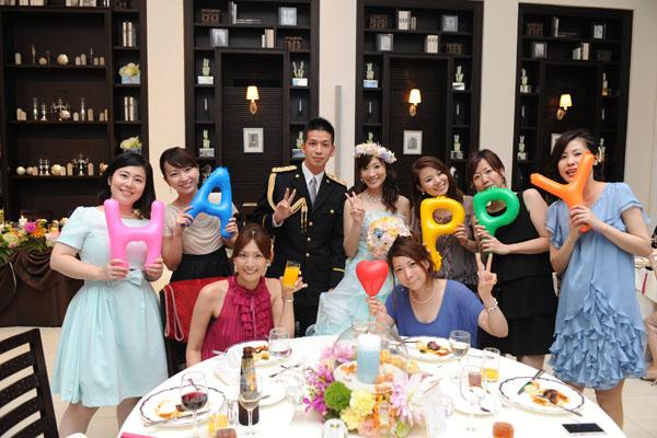 大好きな家族、大好きな友達、大好きな仲間に囲まれて、最高の結婚式でした♪