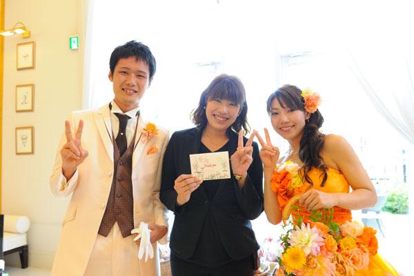 大好きな長岡プランナー☆ 最高の1日をありがとうございます!