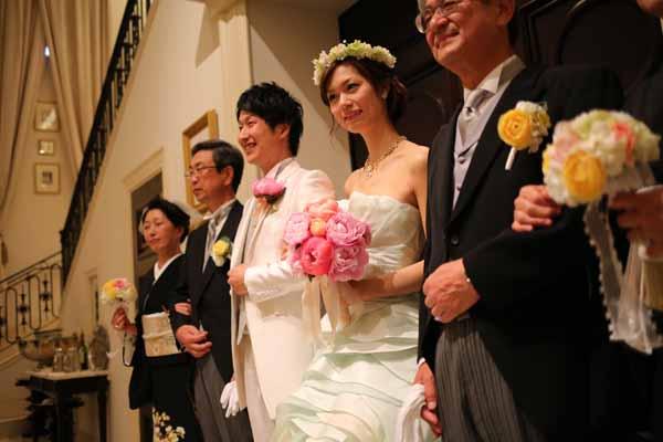 親御様に、もう一度結婚式を…☆