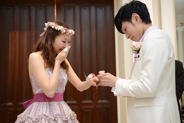新郎からサプライズプロポーズ!!とっても幸せな一日でした