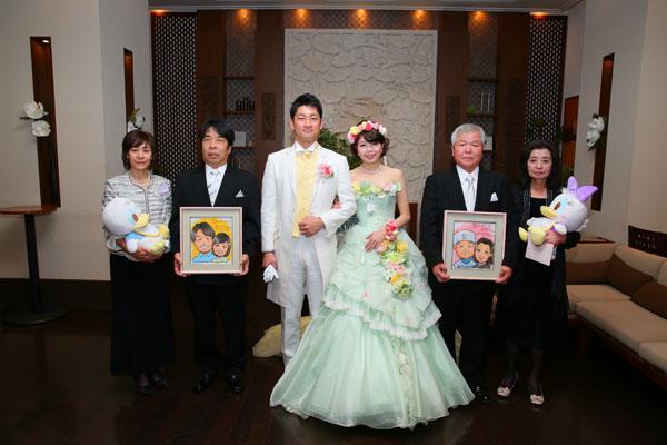 両親との写真。本当に感謝。