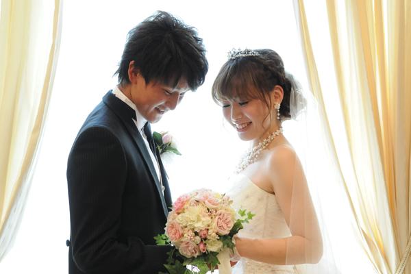 これから待ちにまった結婚式の始まりです。