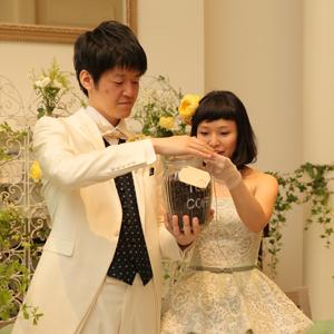café wedding