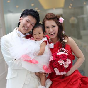 FAMILY WEDDING ~3人でのバージンロード~