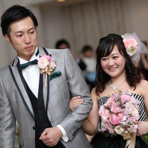 春を感じさせる桜wedding