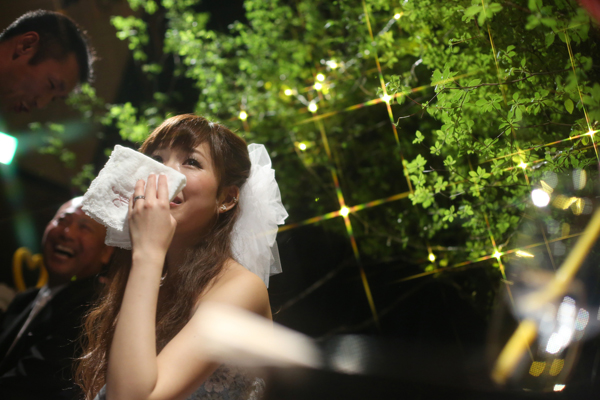 笑いあり涙ありの素敵な結婚式になりました