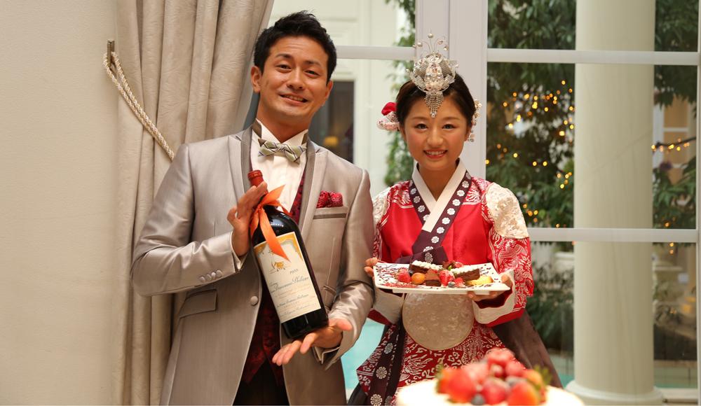輪(8)・永遠(∞)・縁(円)つながり(国際結婚・ゲスト)のレポート写真