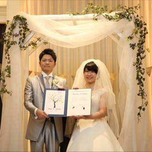 二人らしく…感謝が伝えられる結婚式