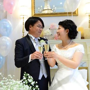 笑顔でも喜びでも感動できる結婚式