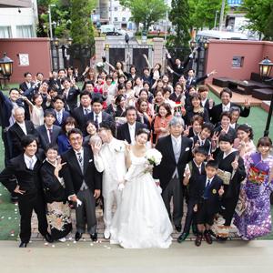 笑いあり 涙あり 感動あり!! シンプル WEDDING!!