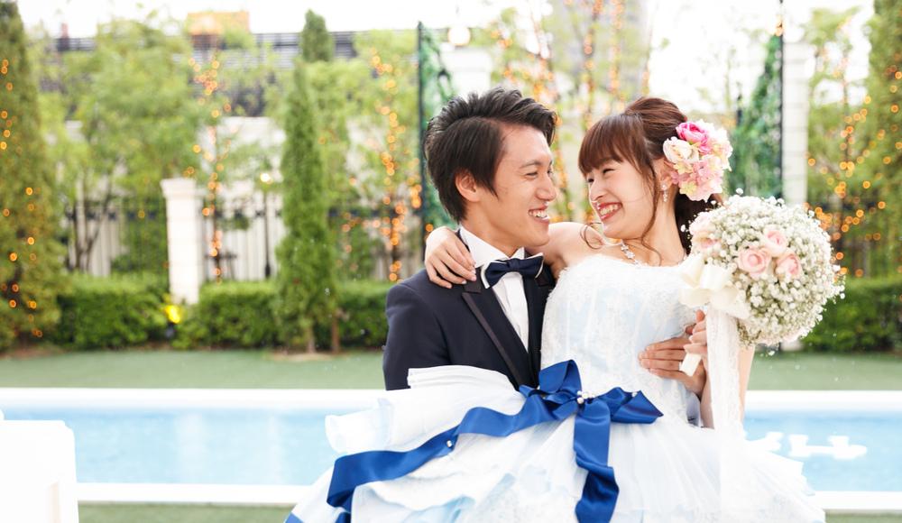 笑顔の溢れるフォトジェニックな結婚式のレポート写真
