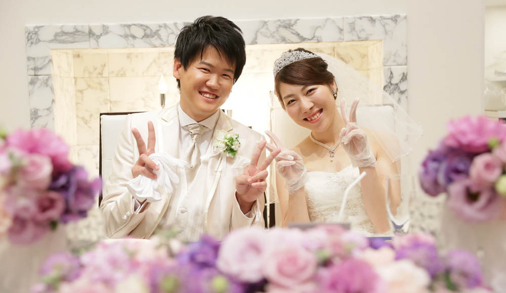結婚式で伝える感謝の気持ちのレポート写真