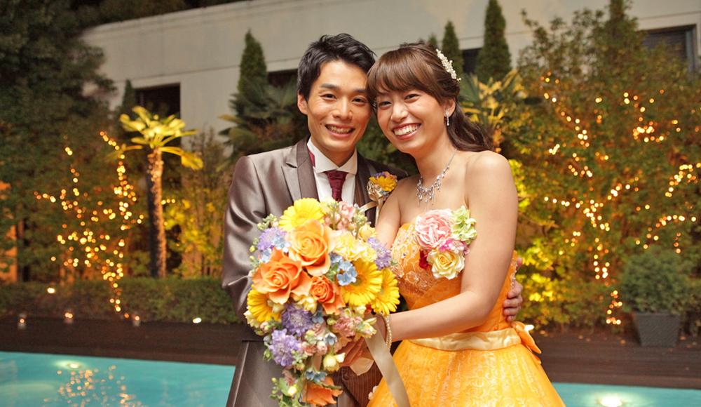 笑顔が素敵なお2人の結婚式…♡のレポート写真
