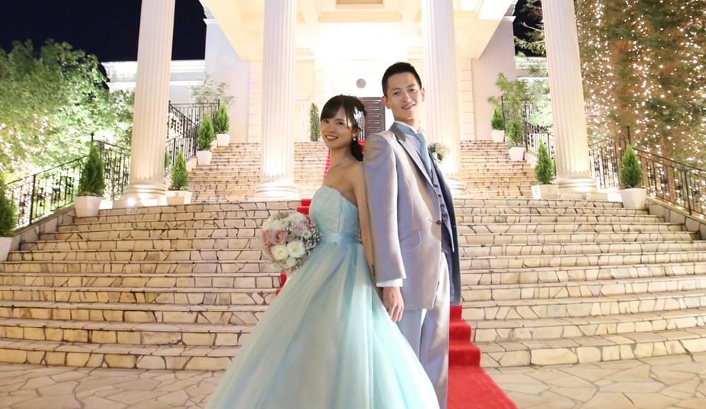 白を基調とした上質Weddingのレポート写真
