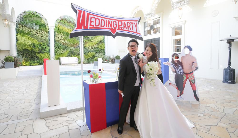 こんなに楽しい結婚式は<br /> 自分たちの結婚式だけ!のレポート写真