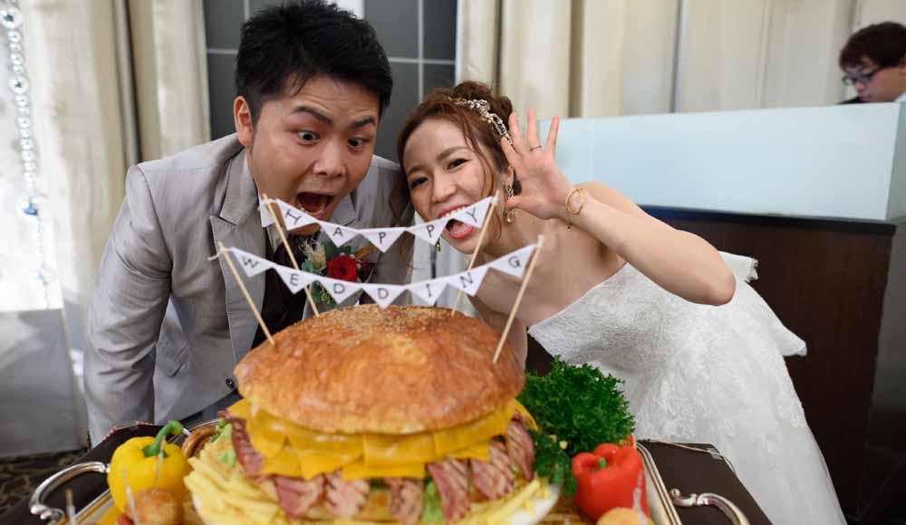 みんなが楽しめる<br /> 思い出に残る印象的な結婚式のレポート写真