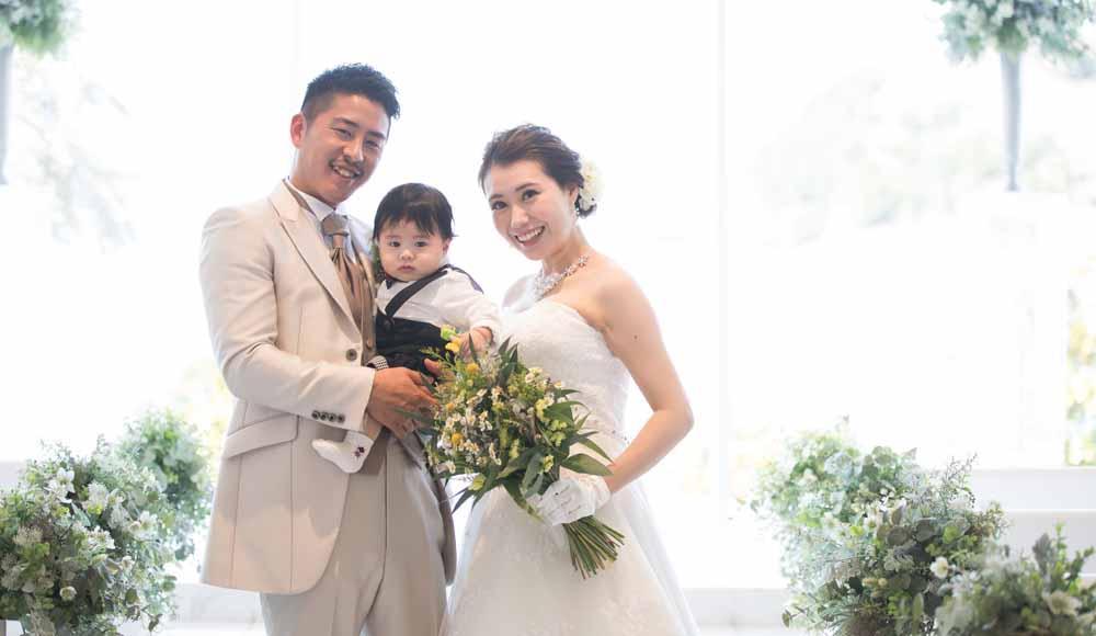お子様と一緒の結婚式 <br /> ~家族の時間~のレポート写真