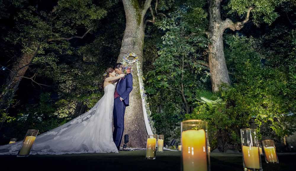 会費婚◆アフターパーティ<br /> おしゃれにナイトウェディングのレポート写真
