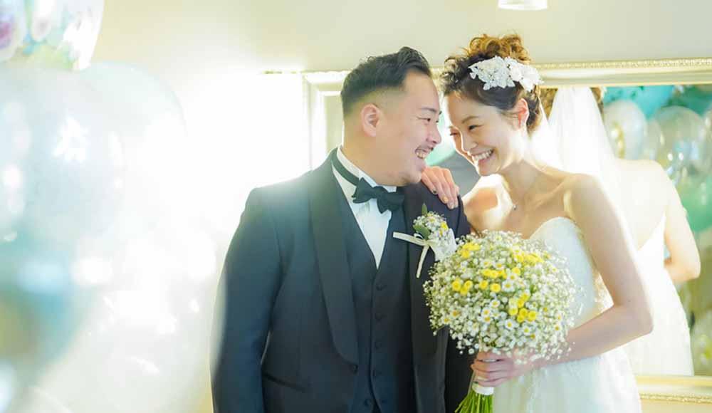 フォトジェニックな<br /> Natural Weddingのレポート写真
