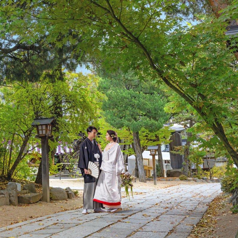 20名60万円<br>近隣神社での神前式×パーティプラン