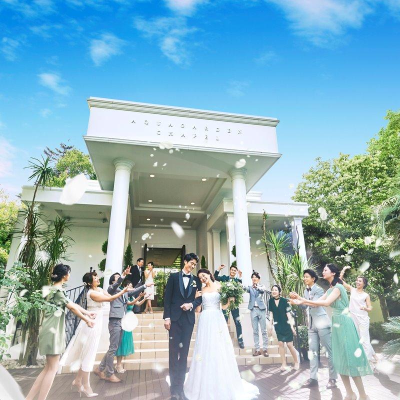 HP限定\開放感◎/サマープラン2021年7~9月までの結婚式