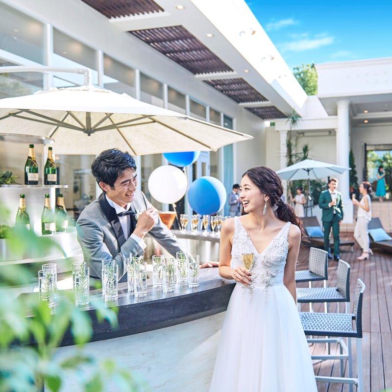 HP限定【プール付きガーデンが映える☆サマープラン】2020年7月~8月の結婚式