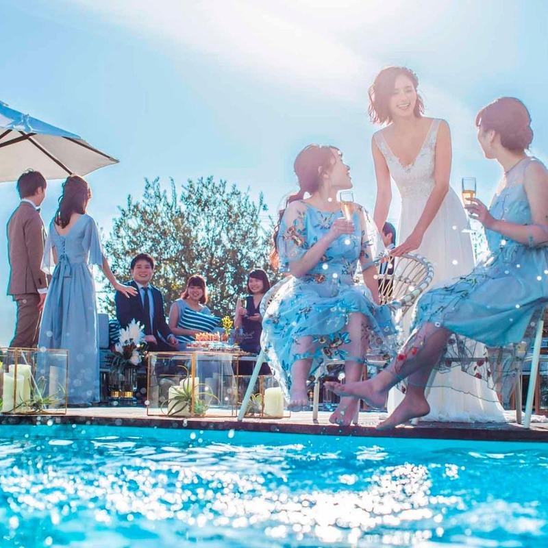 公式HP限定ベストレート保証<br>《2021年3月~5月/組数限定》早くも登場◆ベイサイド迎賓館オリジナルリゾートウェディングスプリングプラン
