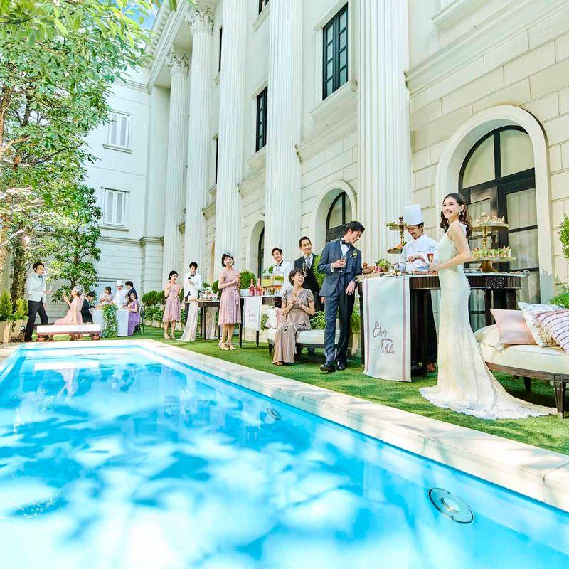公式HP限定ベストレート保証 《2021年7~8月に結婚式希望の方》 MIRRORMIRRORドレス20万円分プレゼント♪