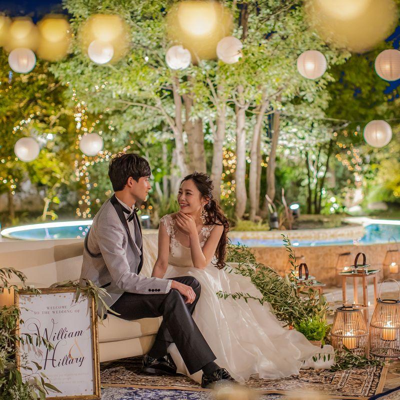 《公式HP限定》ベストレート保証◎2021年7~8月に結婚式希望の方◎最大120万円OFF