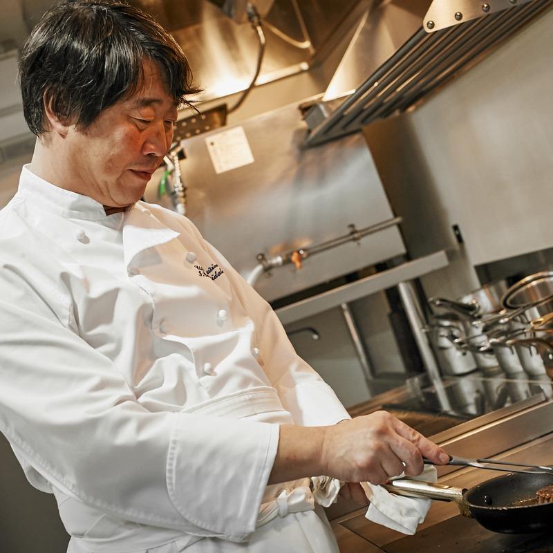 料理・おもてなし重視の方へ<br>柳館シェフとお打合せPLAN 20名105万円