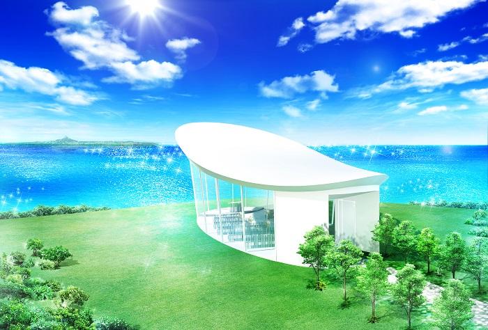 当グループが展開する海外・リゾートウェディングブランド「アールイズ・ウエディングにおいて<br /> <br /> 2014 年7 月に沖縄県本部町備瀬に開業予定の「ホテル オリオン モトブ リゾート&スパ」内に<br /> <br /> 直営チャペル「白の教会」を2014 年9 月にオープンいたします。